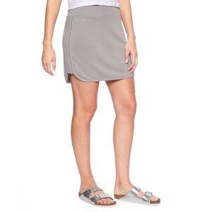 Athleta Serenity Skirt in Silver Grey Size Medium